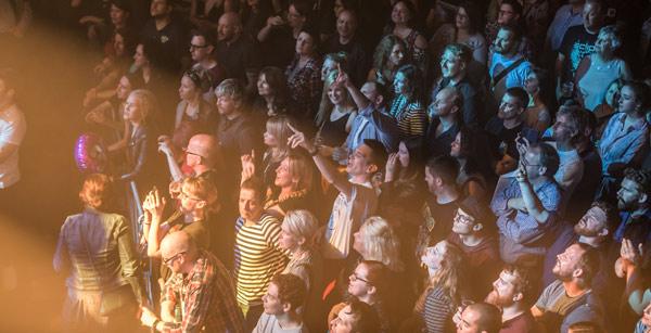 Hidden Door audience watching Idlewild